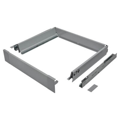 Blum TANDEMBOX ANTARO Internal Drawer - BLUMOTION - (H) 84mm x (D) 450mm x (W) 600mm - Grey