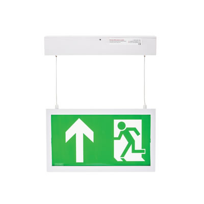 Camber LED Emergency Exit Sign - Hanging)