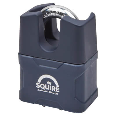 Squire Stronglock Padlock With Closed Shackle - 51 x 29mm - Keyed to Differ