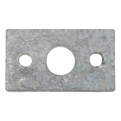 Spare Keep - Flat - 11mm Bolt - Zinc Plated)