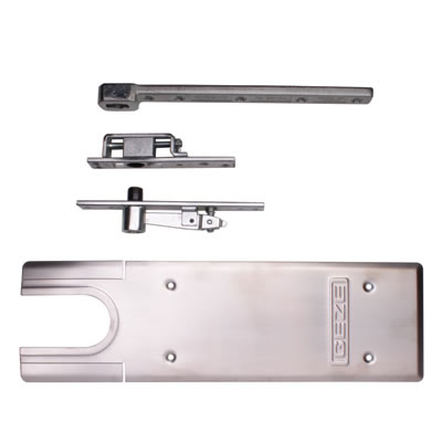 GEZE TS550NV Accessory Pack - Double Action - Satin Stainless Steel)