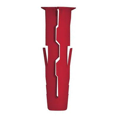Rawlplug Uno Plug - Red - Pack 1000