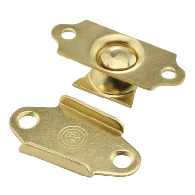 Mirror Swivel Movement Bracket - 32mm - Electro Brass - Pack 2