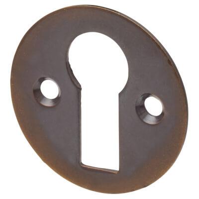 Jedo Escutcheon - Keyhole - Antique Brass)