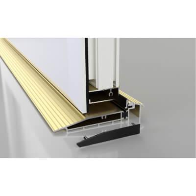 Stormguard Proline AM5EX Outward Threshold - 2000mm - Outward Opening Doors - Gold)