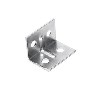 Angle Bracket - 29 x 20 x 20mm - Zinc Plated Steel - Pack 10)
