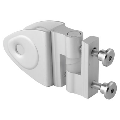 Designer Self Closing Hinge - Satin Anodised Aluminium - 17-19mm Panels)