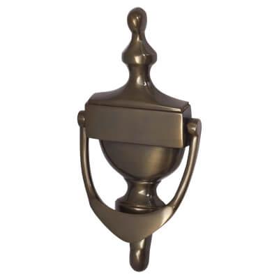 Jedo Urn Knocker - 150mm - Dark Bronze)