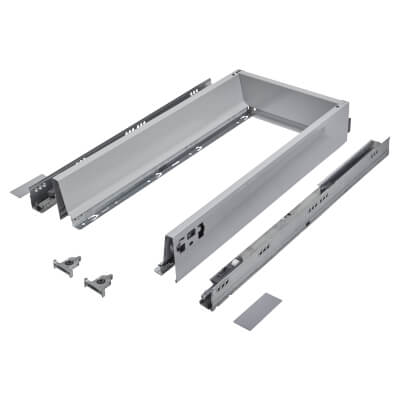 Blum TANDEMBOX ANTARO Drawer Pack - BLUMOTION Soft Close - (H) 84mm x (D) 500mm x (W) 300mm - Grey