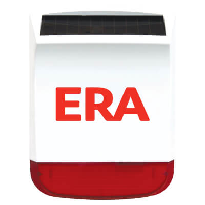 ERA® Solar Charged Wireless External Siren for ERA Alarm Systems