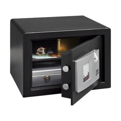 Burg Wächter P 2 E FS PointSafe Electronic Biometric Safe - 255 x 350 x 300mm - Black)