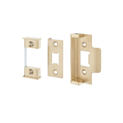 Altro 12.5mm Rebate Kit to suit Heavy Duty Tubular Latch - Electro Brass)