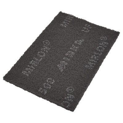 Mirka Mirlon Hand Pad - 152 x 229 x 10mm - Grit Grey - Very Fine - Pack 20