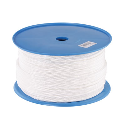 Polyester Sash Cord - 8mm - 100 metre Coil)