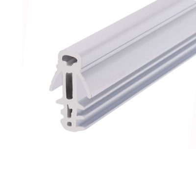 Exitex Fin Parting Bead Bulk Pack - Pack of 40 x 3000mm - White