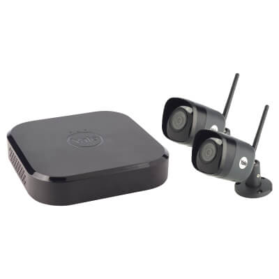 Yale Smart Home CCTV Kit With 2 Wi-Fi Cameras)