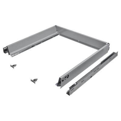 Blum TANDEMBOX ANTARO Drawer Pack - BLUMOTION Soft Close - (H) 84mm x (D) 550mm x (W) 800mm - Grey