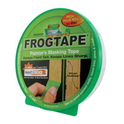 Frog Tape Multi Surface Tape - 36mm x 41.1m - Green)