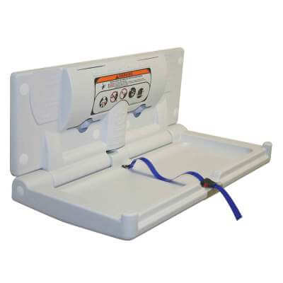 Horizontal Baby Changing Station - 406 x 870mm)