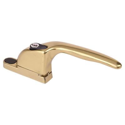 Yale® Off Set Window Handle - Right Hand - Gold Effect