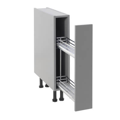 Universal Base Pull Out Plus with Soft Close - Suit 150mm Base Unit)