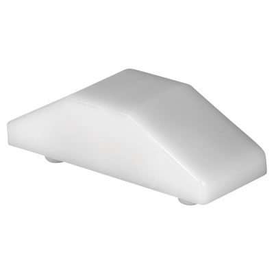 ERA® Cockspur Wedge - 12.5mm - White - Pack 10)