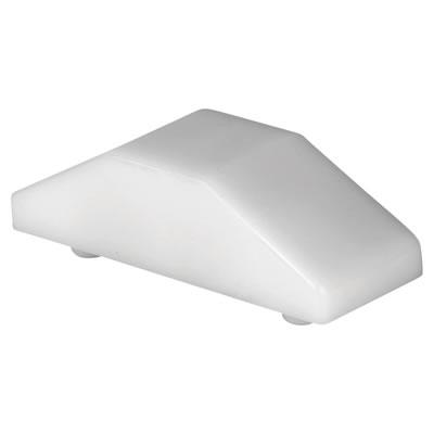 ERA® Cockspur Wedge - 12.5mm - White - Pack 10)