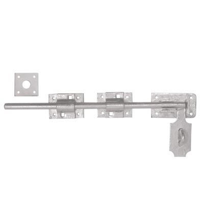Heavy Duty Locking Bolt - 450mm - Galvanised)