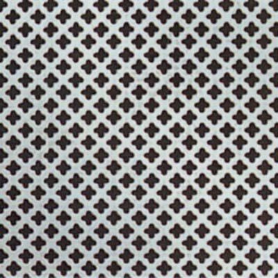 Perforated Aluminium Sheet - 6mm Hole)